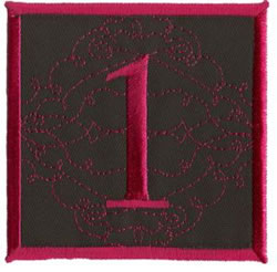 Square Applique 1 embroidery design