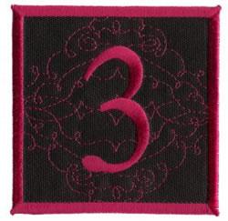Square Applique 3 embroidery design
