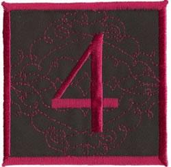 Square Applique 4 embroidery design