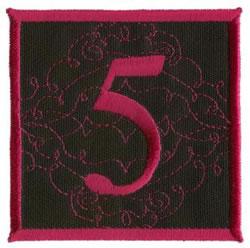 Square Applique 5 embroidery design