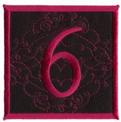 Square Applique 6 embroidery design