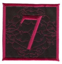 Square Applique 7 embroidery design