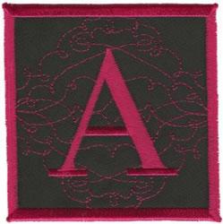 Square Applique A embroidery design
