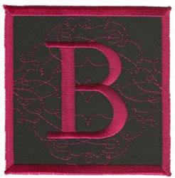 Square Applique B embroidery design