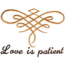 Wedding Quilt Love embroidery design