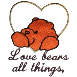 Wedding Quilt Bears embroidery design
