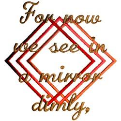 Wedding Quilt Mirror embroidery design