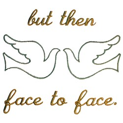 Wedding Quilt Peace embroidery design