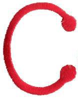 Stick C embroidery design