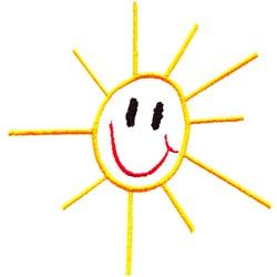 Stick Sunshine embroidery design
