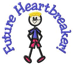 Future Heartbreaker embroidery design