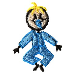 Stick Baby Boy embroidery design