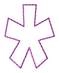 Stitch Star embroidery design