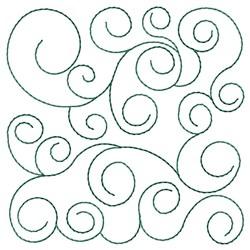 Quilting Swirls Embroidery Designs, Machine Embroidery Designs at EmbroideryDesigns.com