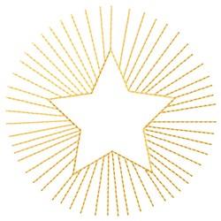 Starburst Quilt embroidery design