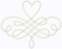 Celtic Heart embroidery design