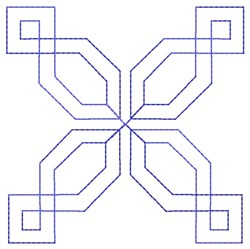 Geometric Quilt embroidery design