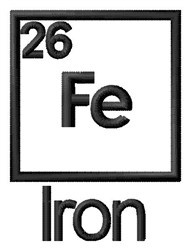 Iron embroidery design