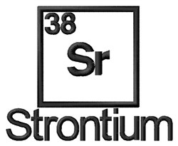 Strontium embroidery design