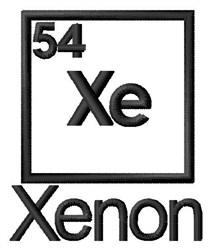 Xenon embroidery design
