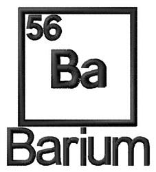 Barium embroidery design