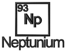 Neptunium embroidery design