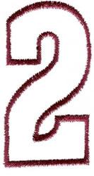 Empty Tank 2 embroidery design