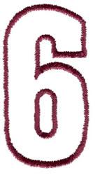 Empty Tank 6 embroidery design