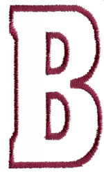 Empty Tank B embroidery design