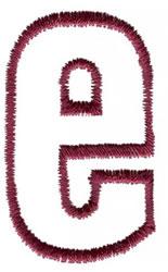 Empty Tank e embroidery design
