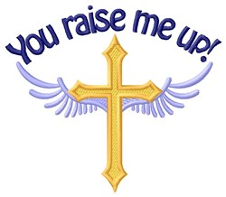 Raise Me Up embroidery design