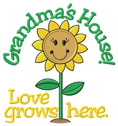 Grandmas House embroidery design