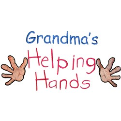 Grandmas Helping Hands embroidery design