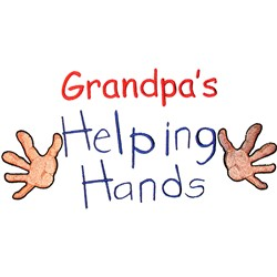 Grandpas Helping Hands embroidery design