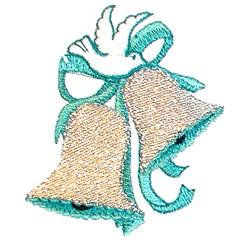 Dove Wedding Bells embroidery design