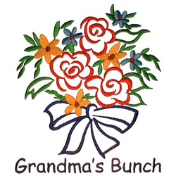 Grandmas Bunch embroidery design