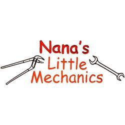 Nanas Little Mechanics embroidery design