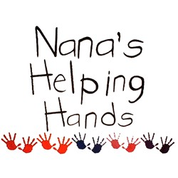 Nanas Helping Hands embroidery design