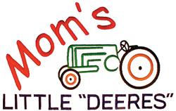 "Moms Little ""Deeres"" embroidery design"
