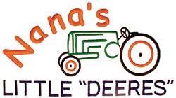 "Nanas Little ""Deeres"" embroidery design"