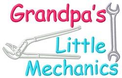 Grandpas Mechanics embroidery design