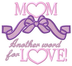 Word For Love embroidery design