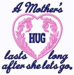 Mothers Hug embroidery design