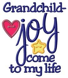 Grandchild Joy embroidery design