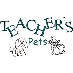 Teachers pets embroidery design