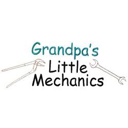 Grandpas Little Mechanics embroidery design