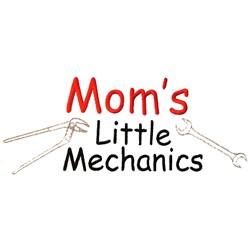 Moms Little Mechanics embroidery design