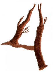 Twig 4 embroidery design