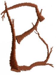 Twig B embroidery design