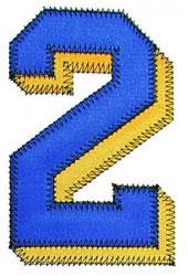 Zig-Zag 2 embroidery design